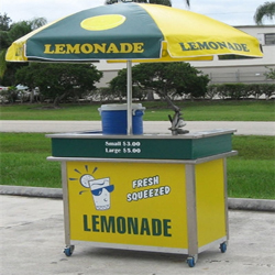 image gallery lemonade cart