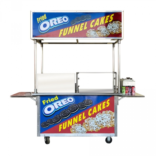 Funnel Cake Push Cart Package