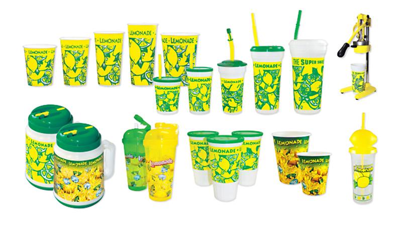 Drinkware: Fresh Squeezed Lemonade