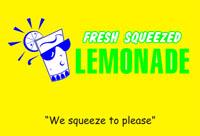 fresh squeezed lemonade store front lemonade signs