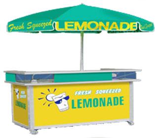 Fresh Squeezed Lemonade Store Front 2012 Model Custom